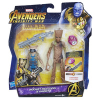 """Avengers Infinity War: Raccoon & Groot - 6"""" Deluxe Figure"""