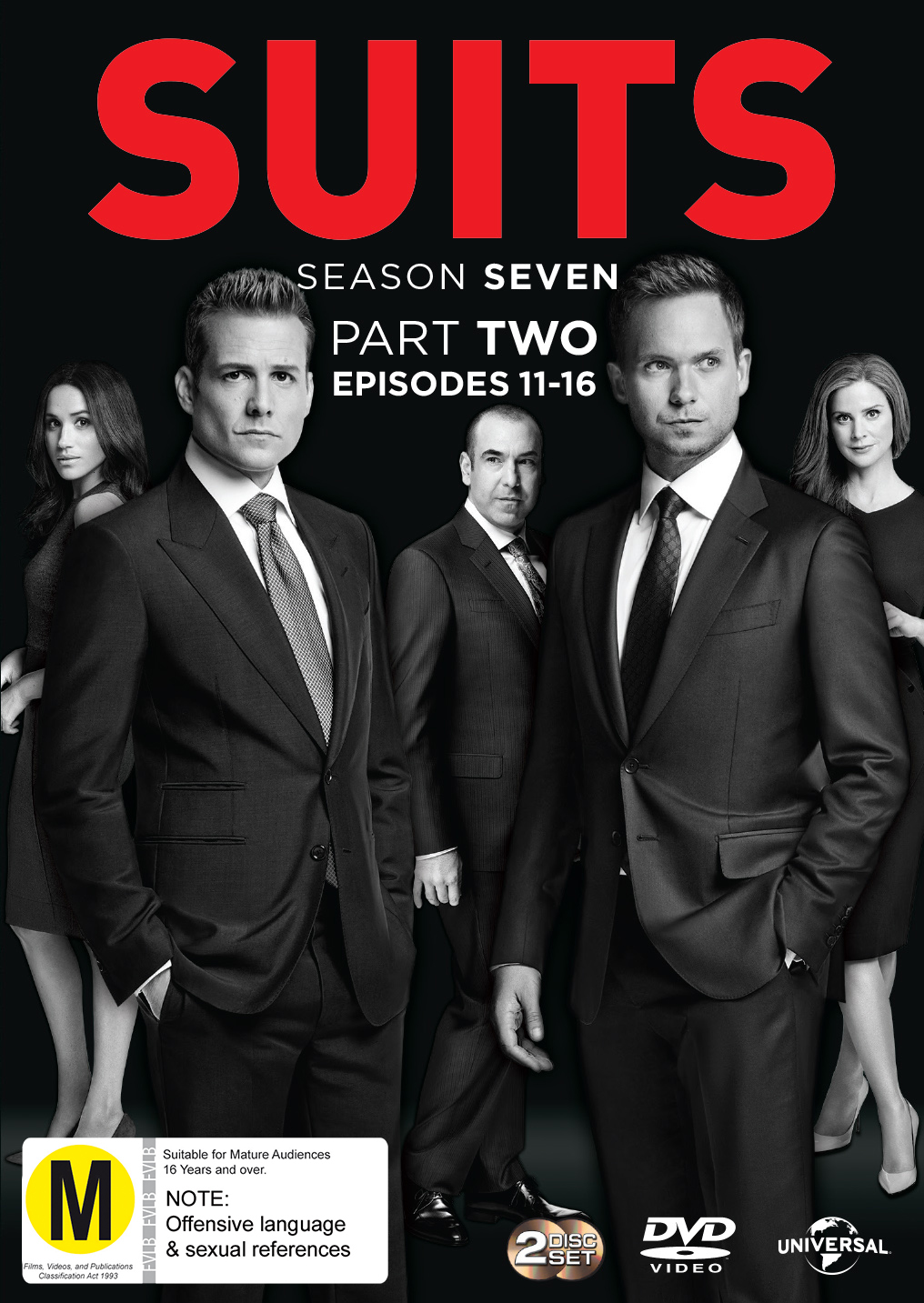 Suits: Season 7 Part 2 on DVD image
