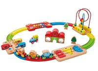 Hape: Rainbow Puzzle - Railway Playset