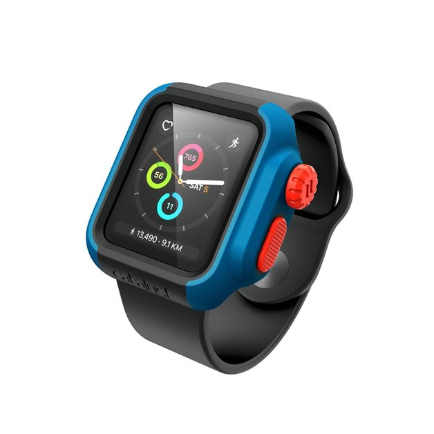 new products a5622 1f29f Catalyst: Impact Case for Apple Watch Series 2/3 38mm (Blue/Sunset ...