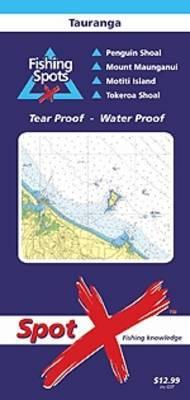 Spot X Tauranga Chart: Fishing Spots by X Spot