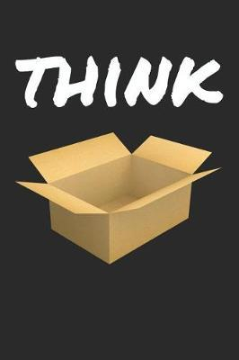 Think outside the box Notebook. 6x9 Blank lined Journal for creative ideas by Blank Lined Journal image