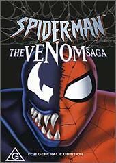 Spider-Man - The Venom Saga on DVD