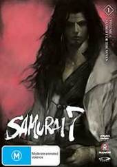 Samurai 7 - Vol 1: Search for Seven on DVD