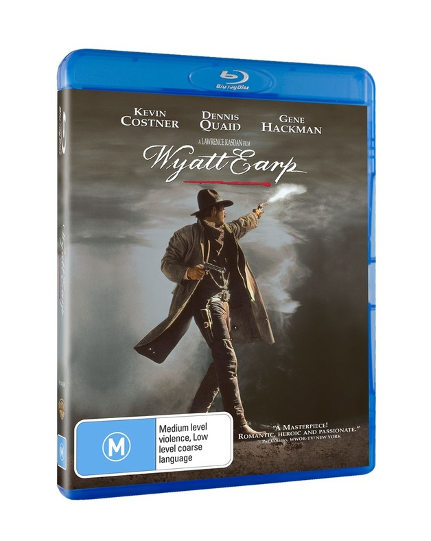 Wyatt Earp on Blu-ray