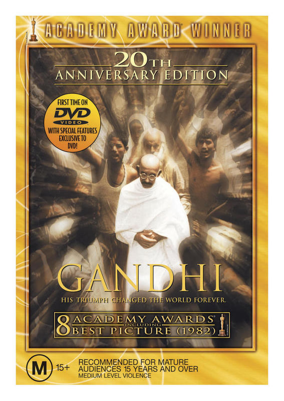 Gandhi on DVD