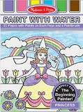 Melissa & Doug: Princess Paint With Water Kids' Art Pad
