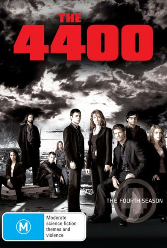The 4400 - Season 4 (4 Disc Set) on DVD