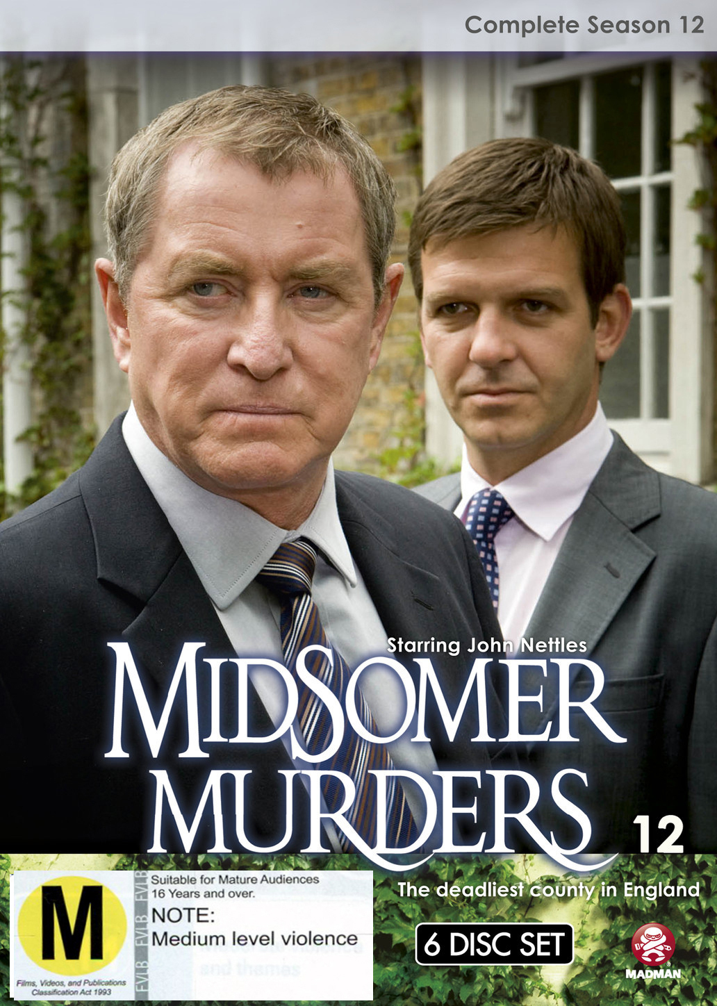 Midsomer Murders - Complete Season 12 (Single Case) on DVD image
