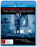 Paranormal Activity: The Ghost Dimension on Blu-ray, 3D Blu-ray