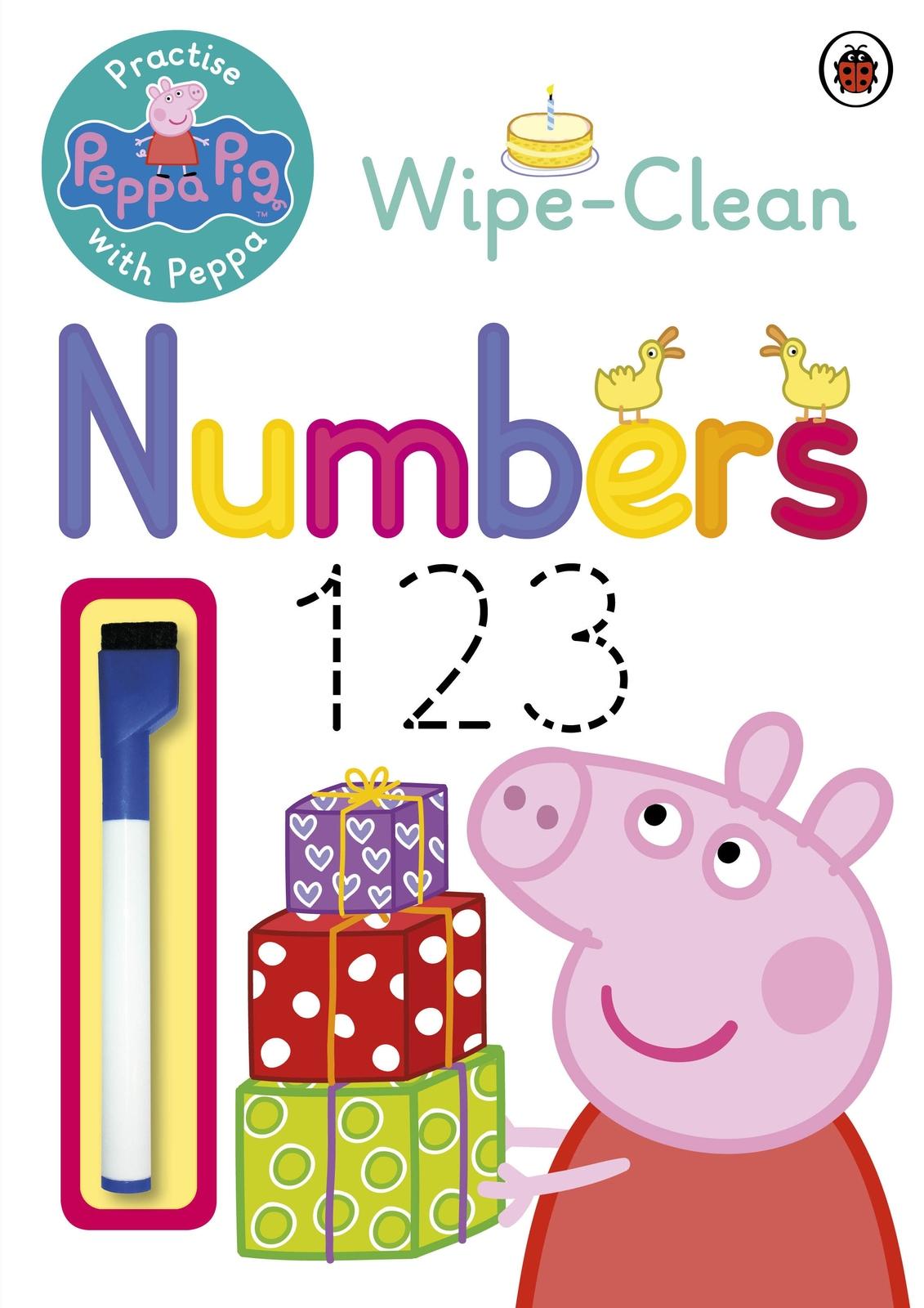 Peppa Pig: Practise with Peppa: Wipe-Clean Numbers by Peppa Pig image