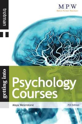 Getting into Psychology Courses by Maya Waterstone image