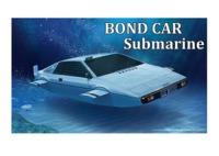 Fujimi: 1/24 James Bond Submarine (Wet Nellie) - Model Kit