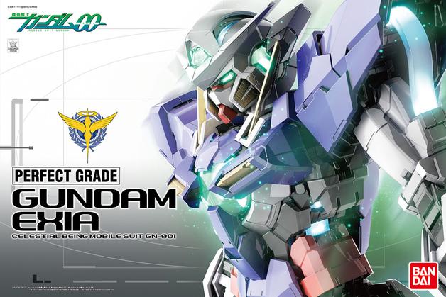 PG 1/60 Gundam Exia (standard Version)- Model Kit