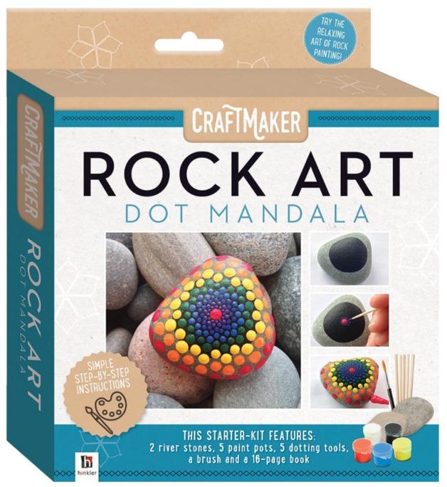 Craftmaker: Rock Art - Dot Mandala