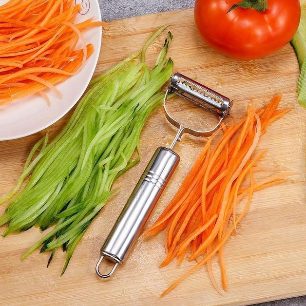 Ape Basics: Stainless Steel Vegetable Peeler & Julienne Cutter