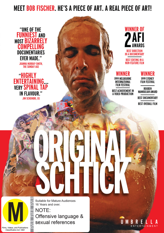 Original Schtick on DVD
