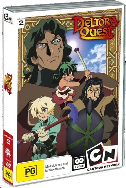 Deltora Quest: The Stolen Gems (Collection 2) (2 Disc Set) on DVD