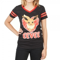 Pokemon Eevee Slim Fit T-Shirt (X-Large)