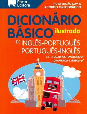 Illustrated English-Portuguese & Portuguese-English Dictionary for Children by Basico image