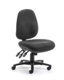 CS Delta Sedo E High Back Large Seat - Black