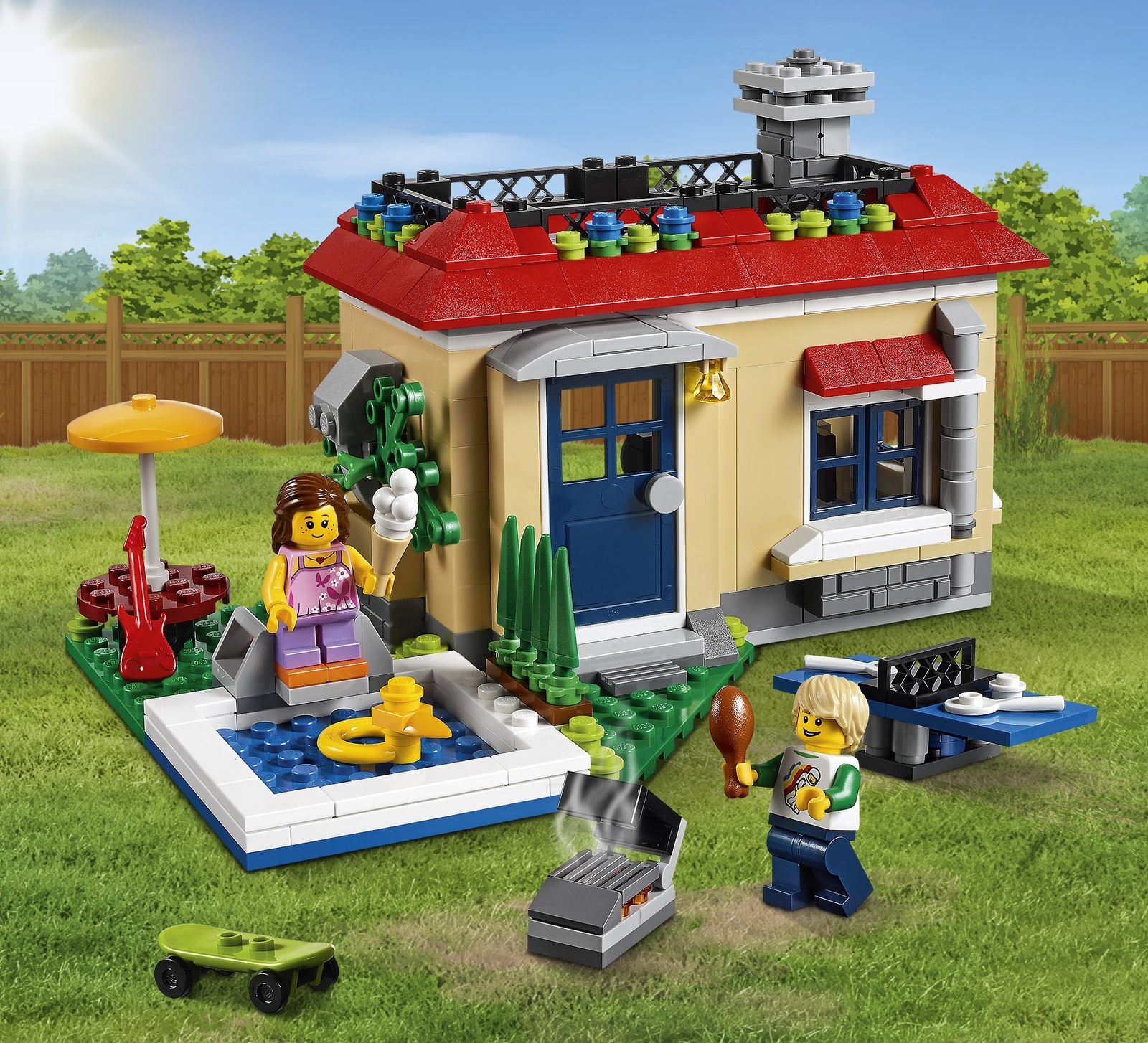LEGO Creator - Poolside Holiday (31067) image
