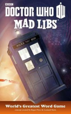 Doctor Who Mad Libs Word Game By Price Stern Sloan Image