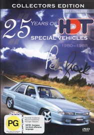 25 Years Of HDT Special Vehicles - 1980-1988: Collectors Edition on DVD image