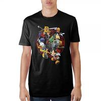 Kingdom Hearts: Battle Logo - T-Shirt (XL)