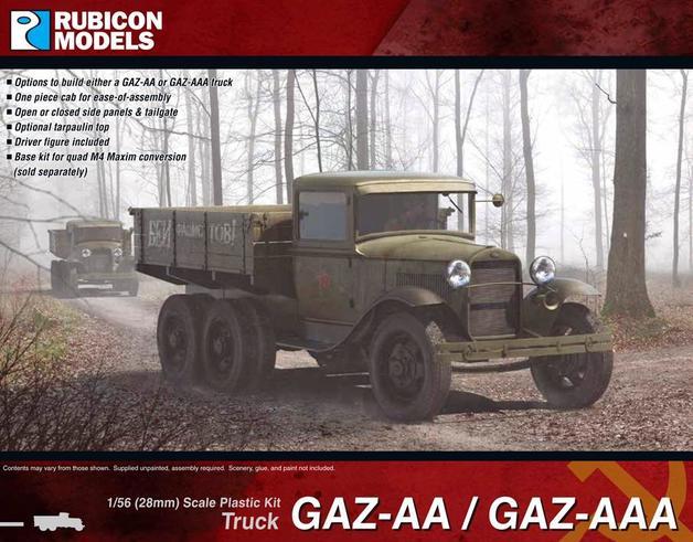 Rubicon 1/56 GAZ-AA / GAZ-AAA Truck