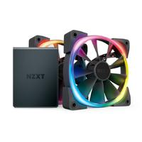 NZXT Aer RGB 2 Starter Kit with 2x Aer RGB 2 Fans (120mm)