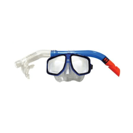Land And Sea: Atoll Mask And Snorkel - Blue/Pink