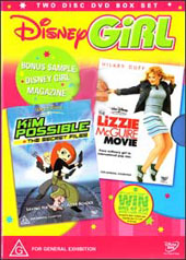 Disney Girl Vol. 1 - The Lizzie McGuire Movie and Kim Possible on DVD