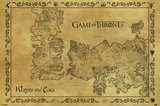 Game of Thrones Map Maxi Poster (229)