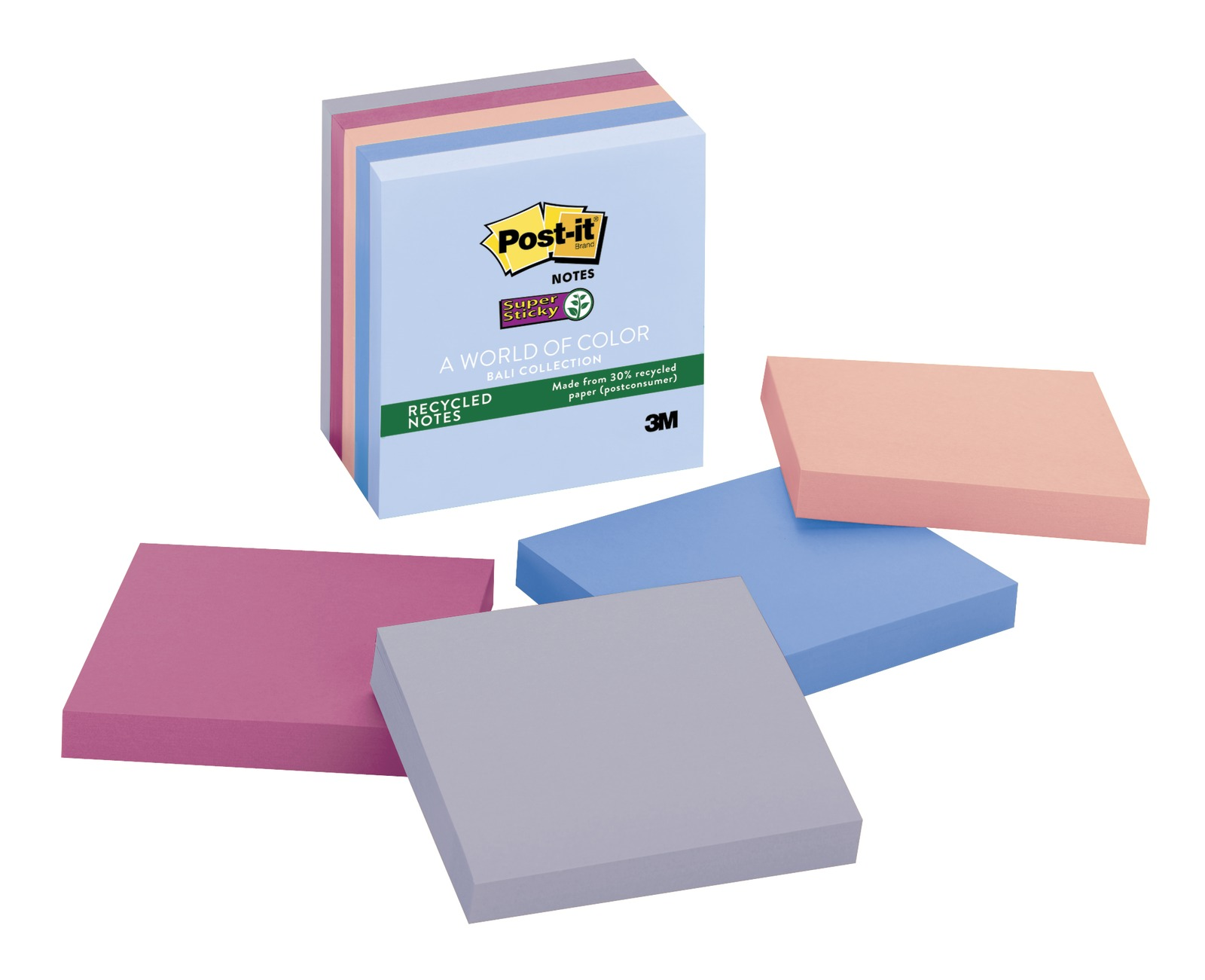 Super Sticky Post-it Notes - Bali (Pack of 5) image