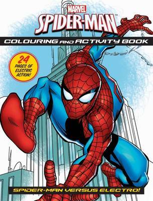 Spider-Man Colouring and Activity Book image