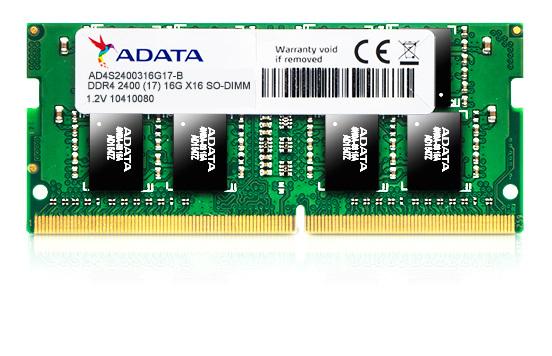 8GB ADATA DDR4-2400 512x8 SO-DIMM