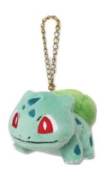 Pokemon: Plush Mascot Charm (Bulbasaur)