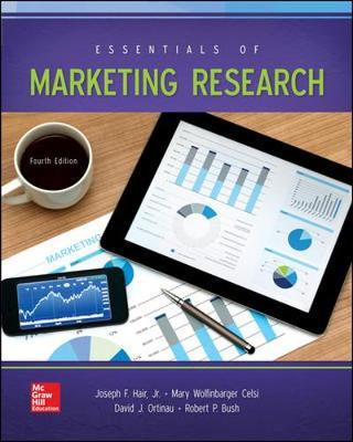 LooseLeaf for Essentials of Marketing Research by Joe F Hair image