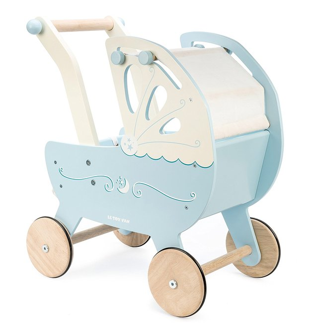 Le Toy Van: Moonlight Pram - Blue