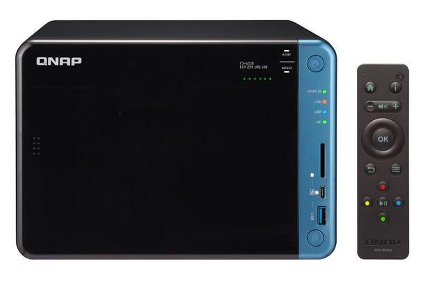QNAP TS-653B-8G NAS,6BAY (NO DISK),8GB,CEL QC-1.5GHz,USB 3.0(5), GbE(2),TWR,2YR