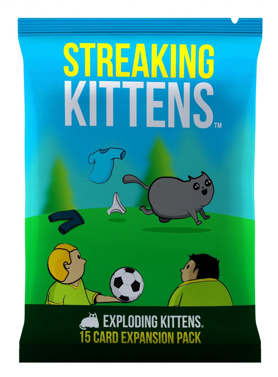 Exploding Kittens: Streaking Kittens - Expansion Pack image