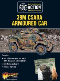Bolt Action: 39M Csaba Armoured Car