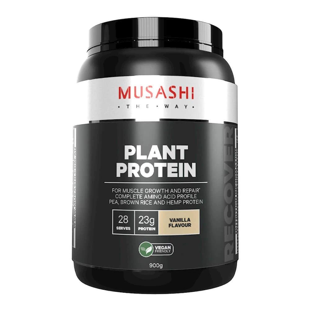 Musashi Plant Protein - Vanilla (900g) image