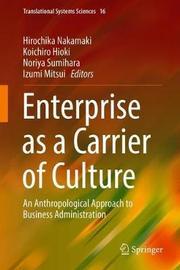 Enterprise as a Carrier of Culture