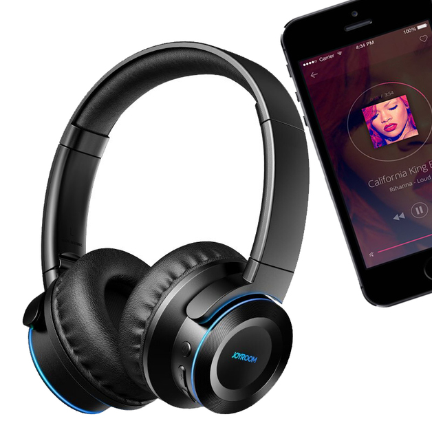 Wireless Bluetooth 5.0 - Sports Touch Foldable Headset (Black)