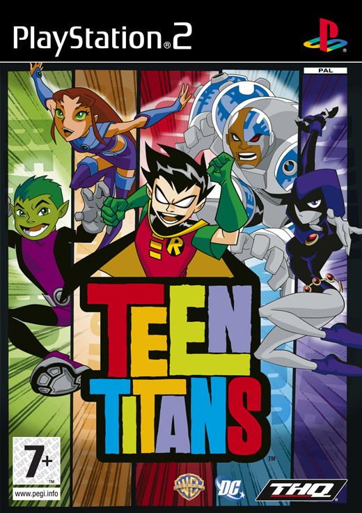 Teen Titans for PlayStation 2