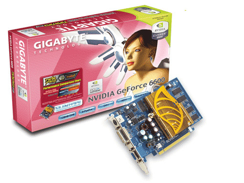 Gigabyte Graphics Card NVIDIA GeForce 6600 128M PCIE