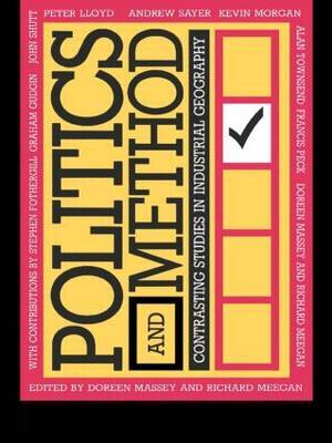Politics and Method by Doreen Massey