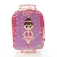 BobbleArt Wheelie Travel Bag - Ballerina